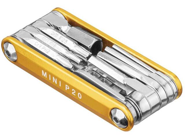 Topeak Mini P20 Multiutensile, gold